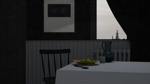 Healthy Breakfast - Minimal - Dining room - by HenkRetro1960