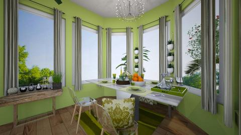 Green Dining - Dining room - by T_a_M