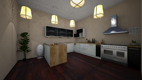 bamboo kitchen wood - Modern - Kitchen - by jade1111