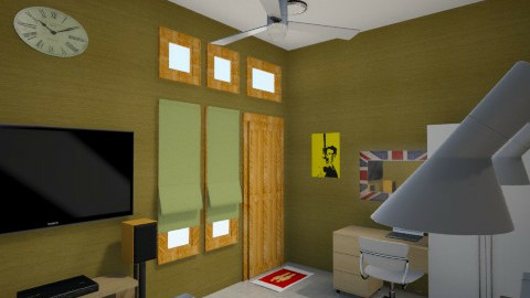gold e pop 2 - Minimal - Bedroom - by herjantofarhan