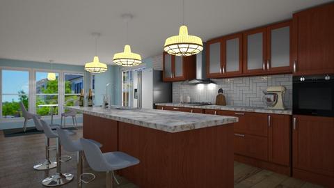 Mid Century Modern - Modern - Kitchen - by NikLaurayne
