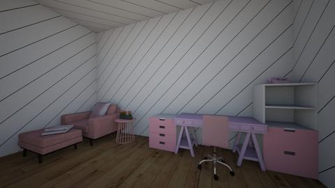 ROOM FOR FANCY GIRLS - Glamour - Bedroom - by silvitalaestilista