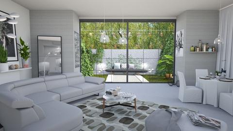 M_Grey - Living room - by milyca8