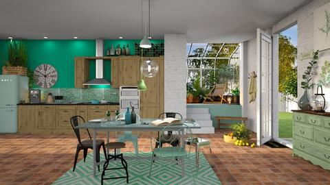 IP Artisan Kitchen - Kitchen - by Mandine