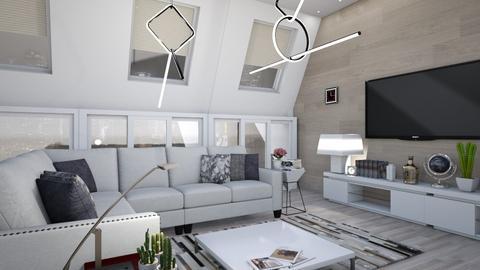 M_D - Living room - by milyca8