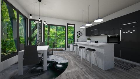 modern meets natural - Kitchen - by katsumi1016