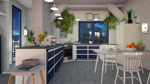 Herb_Kitchen - Kitchen - by ZuzanaDesign