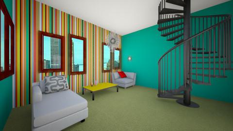 Mod Living room  - Retro - Living room - by manicpop