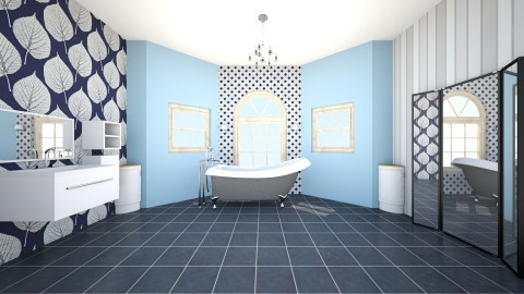 Bathroom and bathtub - Bathroom - by Ingrid Design