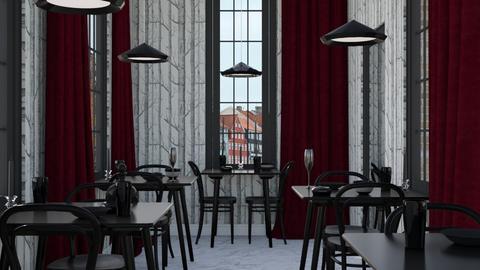 Chique Restaurant - Modern - Dining room - by HenkRetro1960