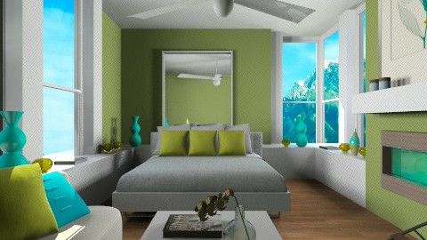 Pretty Peacock - Eclectic - Bedroom - by channing4