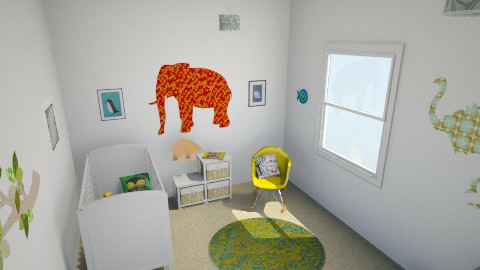 Rachel Bridge - Eclectic - Kids room - by rachelbbridge