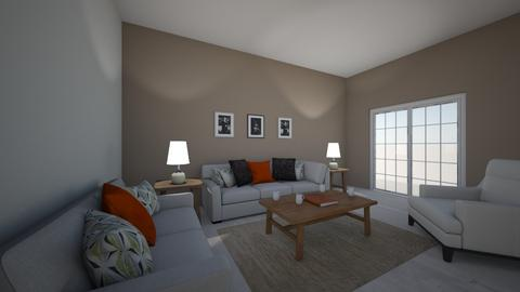 asymmetrical - Living room - by kennaDM