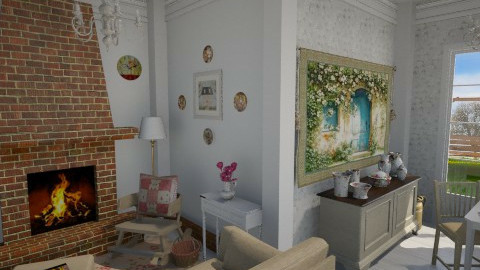 Country House - Country - Living room - by FranChi