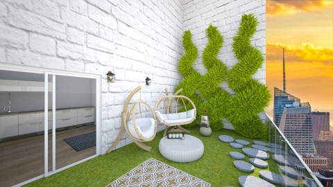 Modern Patio - Minimal - Garden - by kennyhollis99