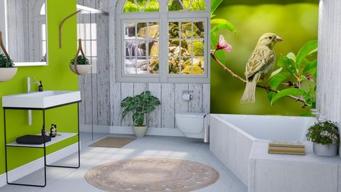 Birds Dream Bath - Bathroom - by millerfam