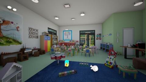 nursery school - Retro - by matina1976