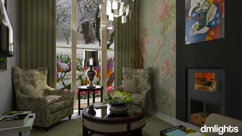 Um dia frio - Living room - by DMLights-user-1297110