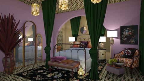 Oriental tale - Bedroom - by chania