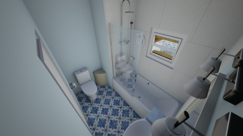 Small Spaces - Global - Bathroom - by thealphagirl
