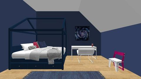 Space Bedroom - Bedroom - by figuresk8cre8