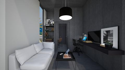 Casa302LivingArea - Feminine - Living room - by nickynunes