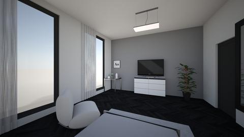 01 - Modern - Bedroom - by KaterynaManchul