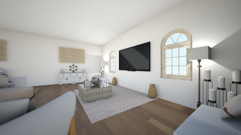 Family cabin - Living room - by keelino9