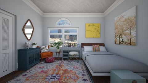 San Francisco  - Eclectic - Bedroom - by katsumi1016
