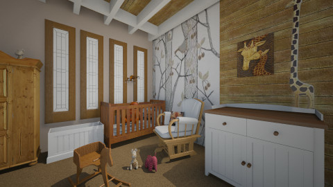 Rowan room - Kids room - by rasty