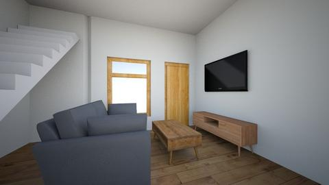 Villa Modesta Layout 3 - Minimal - Living room - by deanasor