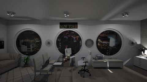 new york office - Modern - Office - by martinal2