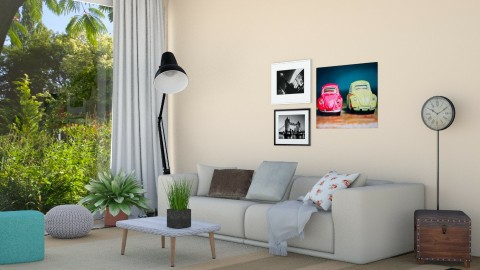 living room modern - Modern - Living room - by Carole Fontaine