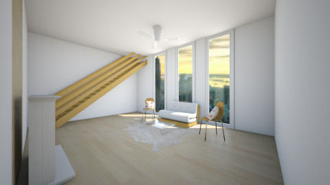 Natural and Minimal - Modern - Living room - by allisorax