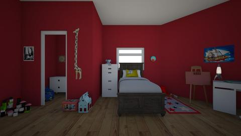 Young Boys Room - Kids room - by pmm6739