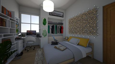 Dorm - Bedroom - by Rin12106