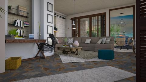 villas - Living room - by pachecosilv