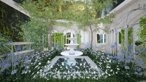 Rivendell - Garden - by Lizzy0715