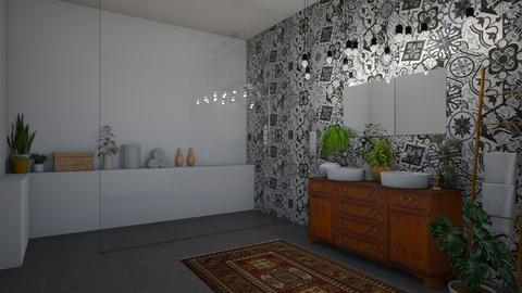 boho bathroom - by regenboogdwerg