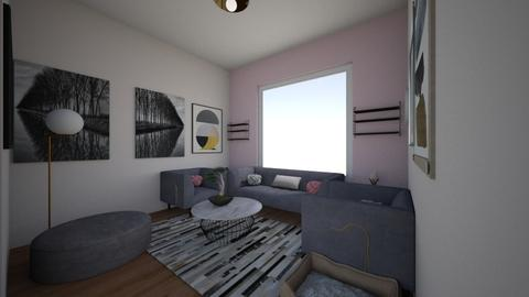i love piggies - Living room - by roomlife4
