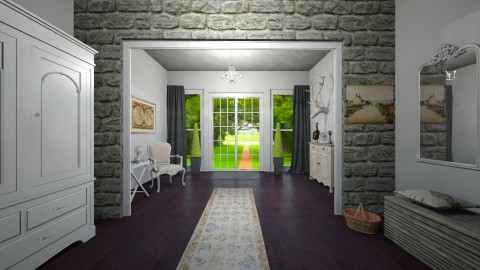 Entryway - Country - by PippyLStocking