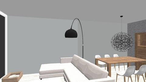 EG Wohnraum - Minimal - Living room - by Chaosqueen