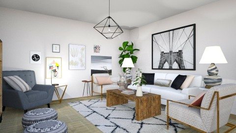 Six objects - Modern - Living room - by dadearin