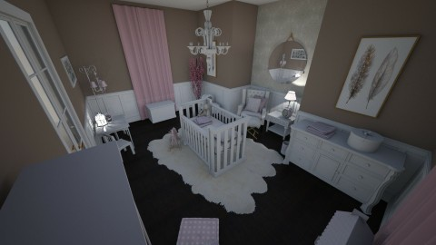 Serinity - Classic - Kids room - by Katie Whitley