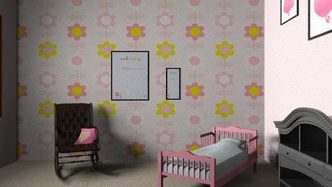 childs room }FEMALE{ - Glamour - Kids room - by daniela rocks