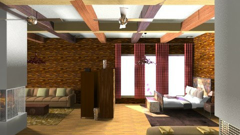 Out of the way cabin 222  - Rustic - by decordiva1
