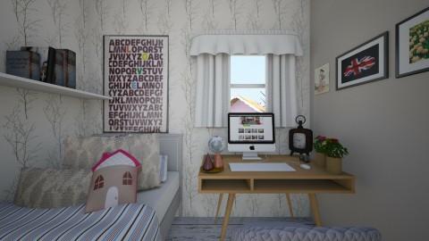 My sweet room  - Bedroom - by Weronika Piszczek