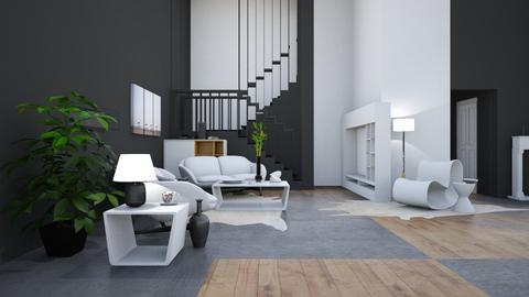 Template 1 - Modern - Living room - by Isaacarchitect