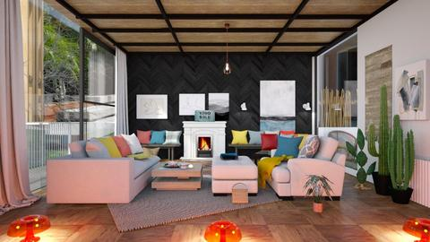 Mid Century Modern Living - Living room - by jasmin_jasmin