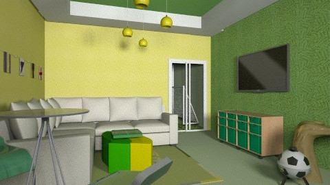 pra copa - Living room - by Naimegouveia